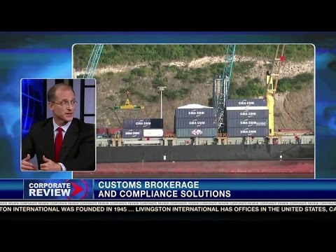 Livingston CEO Steve Preston talks global trade on Corporate Review TV