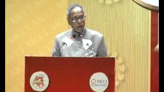 Felicitation Meeting and Address by the President of India Shri Pranab Mukherjee Part2/3