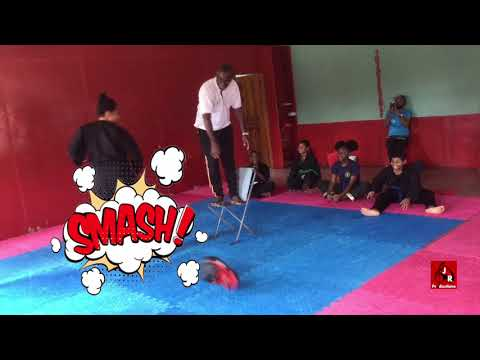 Peaceful Warriors Martial Arts International Inter- Dojo Competition Jumping front kick