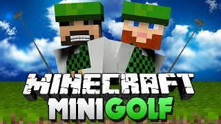 Minecraft Mini-Golf!! PUFFER FISH OP!