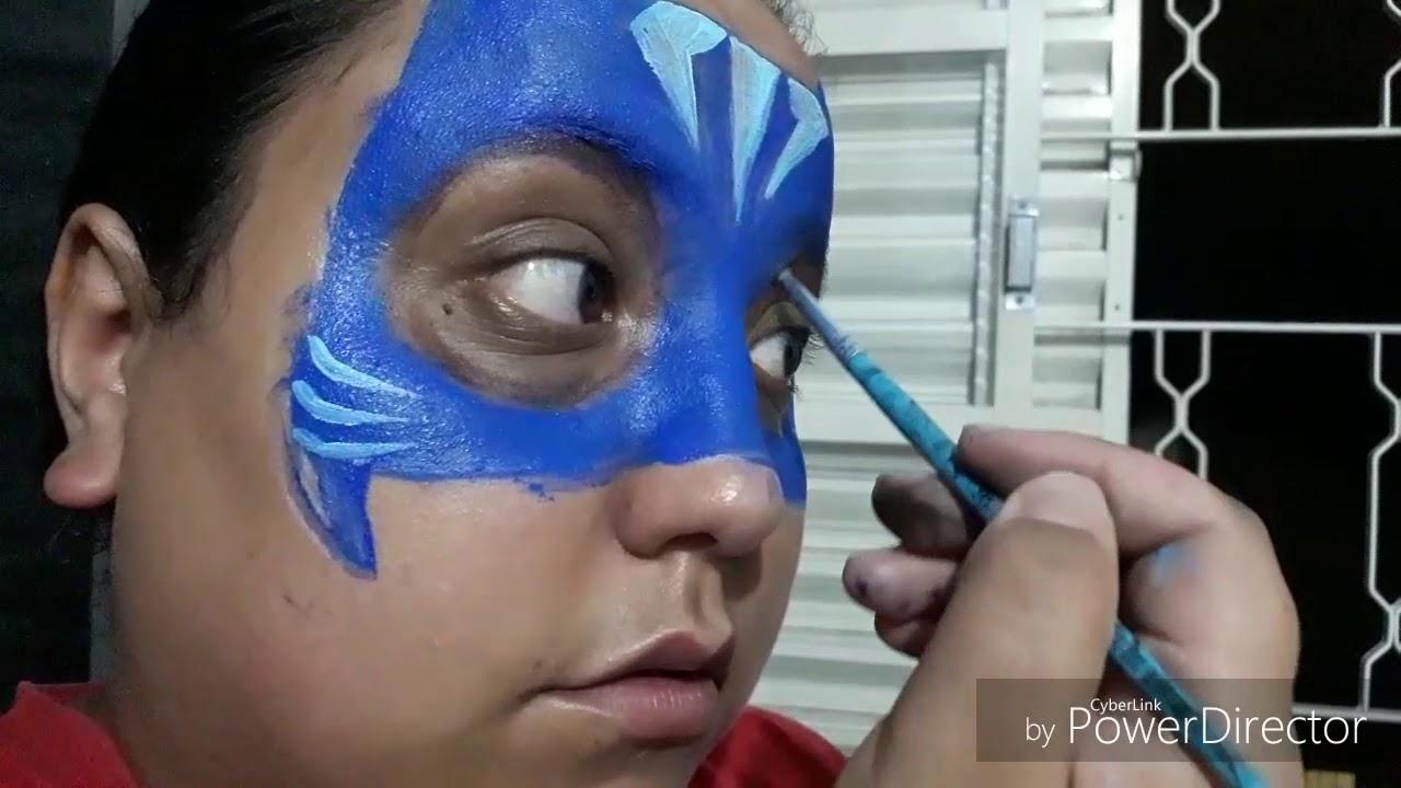 Catboy Pj Masks Tutorial Pintura Facial Face Paint Tutorial