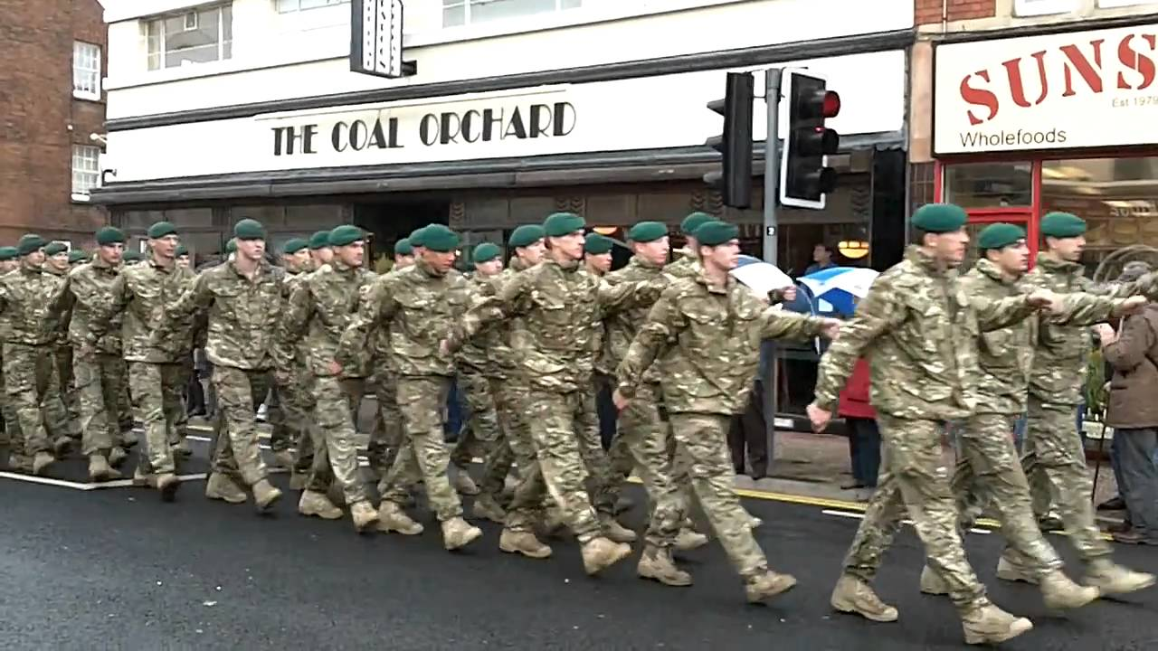 40 Commando Royal Marines Parade at Taunton 17th November ...
