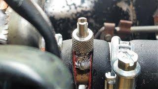 Спускной клапан на тосол ВАЗ 2101: желтая копейка - Часть 7