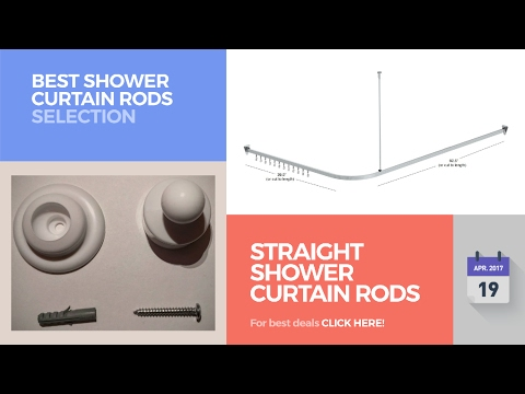 Straight Shower Curtain Rods Best Shower Curtain Rods Selection