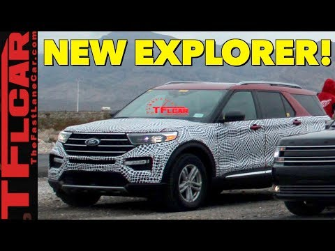Here's Everything We Know About the Upcoming 2020 Ford Explorer!