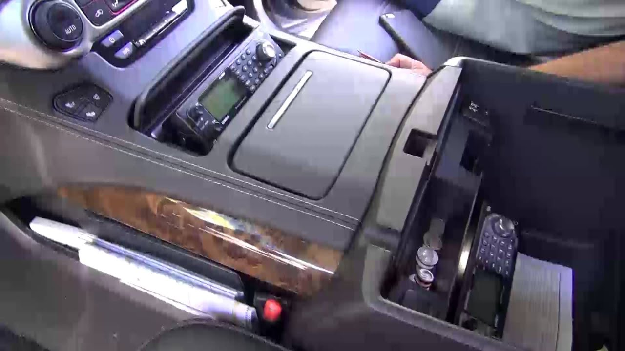 Gmc Sierra Truck >> GMC SUV Police Scanner Installation by Monney Redwood City - YouTube