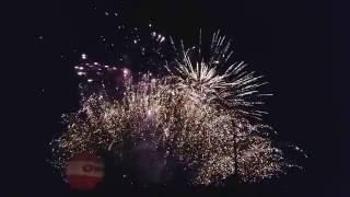 Pokaz sztucznych ogni Dożynki Luzino 28.08.2016