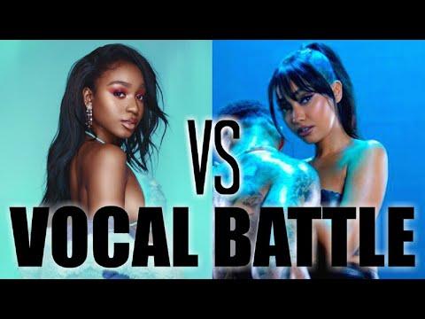 Normani VS Leigh-Anne Pinnock Vocal Battle! (2019)