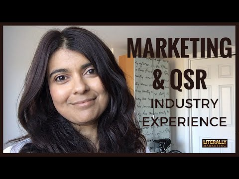 Marketing & QSR Industry Experience