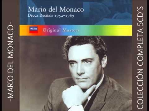 Mario del Monaco. (Recitales Decca Completos)