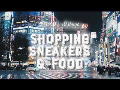 TOKYO TRIP PART-1 SHIBUYA SHOPPING SNEAKERS & FOOD. Bahasa Indonesia (English Subs)