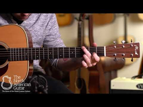 Merrill C-28 Acoustic Guitar Played By Carl Miner