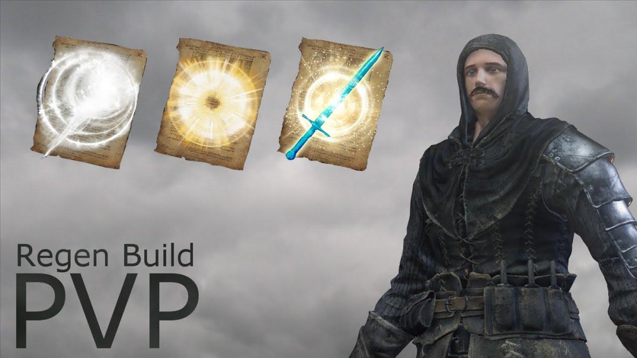 Dark Souls 3 - Cleric PvP - Health Regen Build