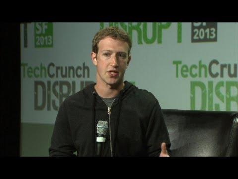 Mark Zuckerberg On Mobile | Disrupt SF 2013