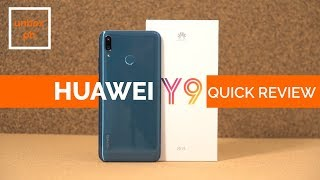 Huawei Y9 2019 Unboxing, Quick Review