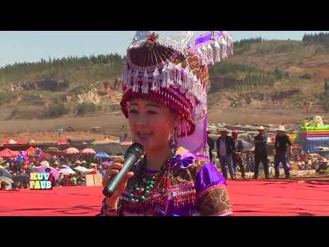 """Laaj Tsawb 2014 邹兴兰 Sings""""Nkauj Muam Nrau Nus"""" during Hmong Int"""