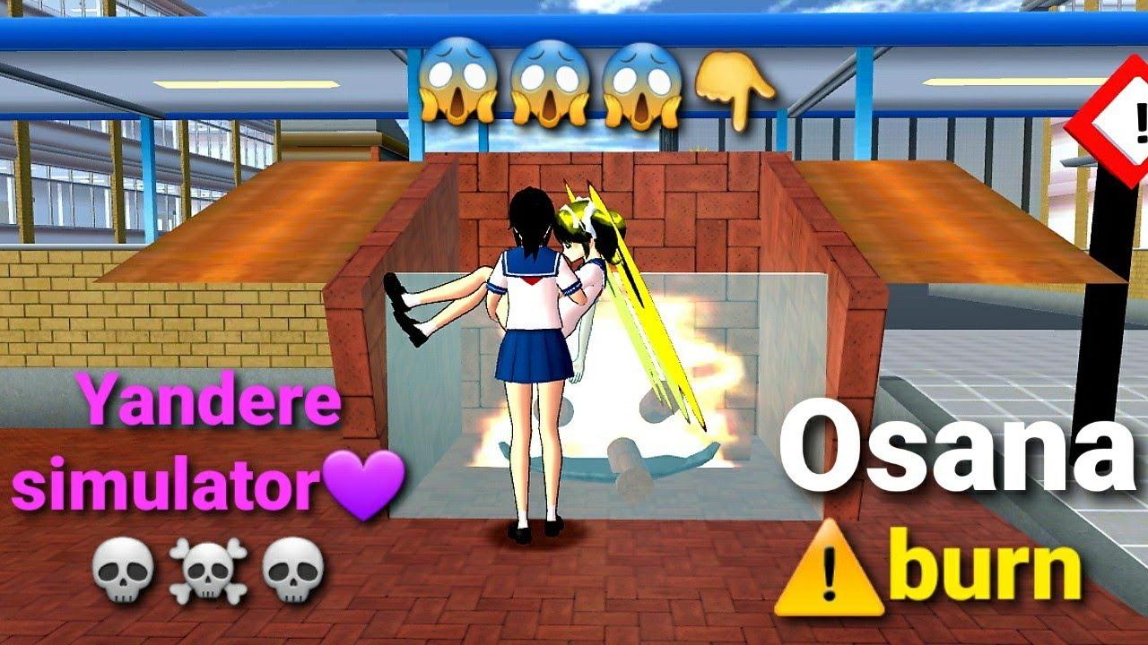 Download Yandere simulator osana burns in sakura school simulator☠🔪🔪