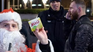 DEAN AMBROSE & RONDA ROUSEY GET PRESENTS FROM SANTA || BLVD BULLIES