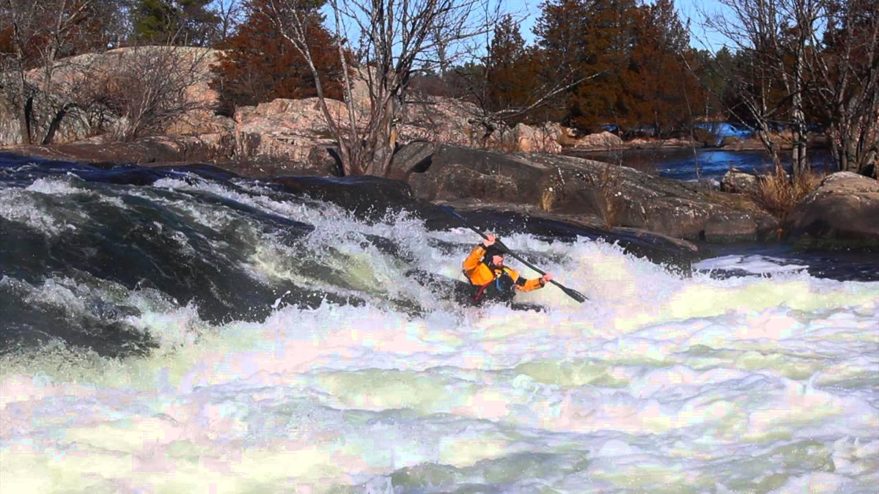 How To Punch Holes In Your Whitewater Kayak
