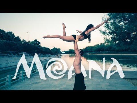 Duo b-lift || ACRO DANCE, lifts COREOGRAPHY || HOW FAR I'LL GO.