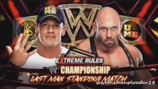 Wwe Extreme rules 2013 Full match card