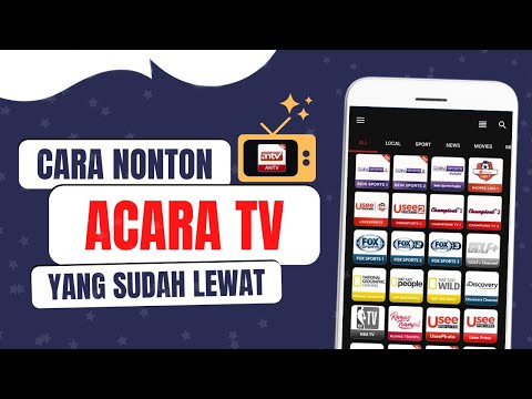 Cara nonton acara tv Yang sudah lewat from YouTube · Duration:  6 minutes 11 seconds