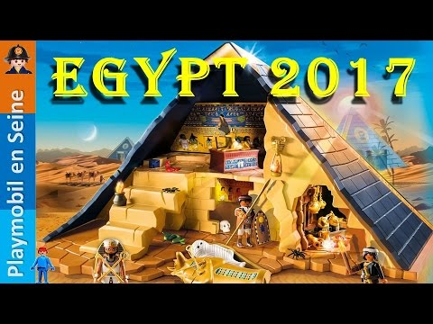 playmobil egypte 2017 nouveautes youtube. Black Bedroom Furniture Sets. Home Design Ideas