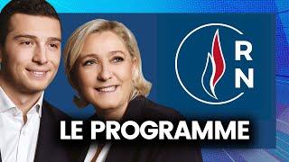 EUROPÉENNES - Le programme du Rassemblement National résumé (Jordan Bardella)