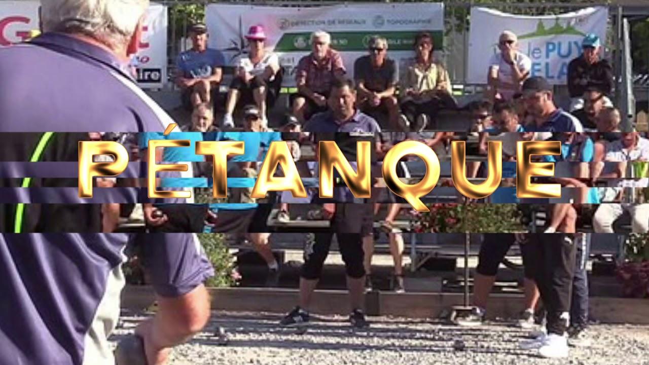 31 parties à voir ou revoir : Le Puy-en-Velay pétanque été 2019