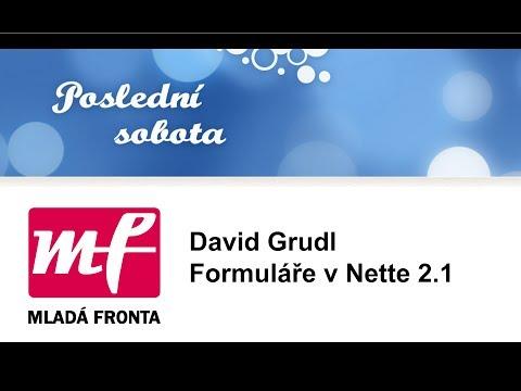 David Grudl: Formuláře v Nette 2.1