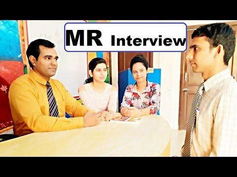 Medical Representative (MR) Interview for Freshers