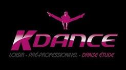 Formation danse etude du centre kdance de Léguevin 2020.  Ecole de danse Nadine Marquet .