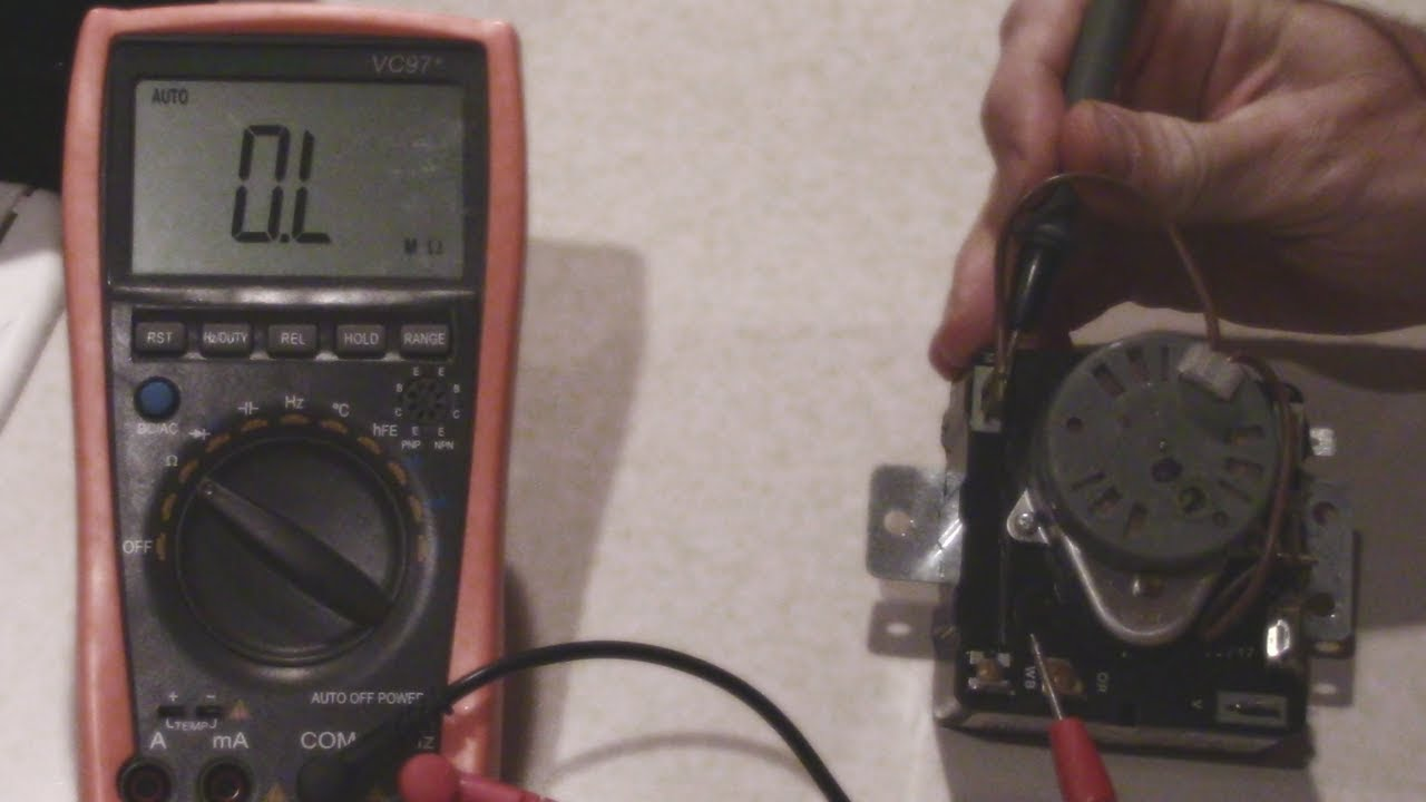how to test a whirlpool dryer timer no heat  [ 1280 x 720 Pixel ]