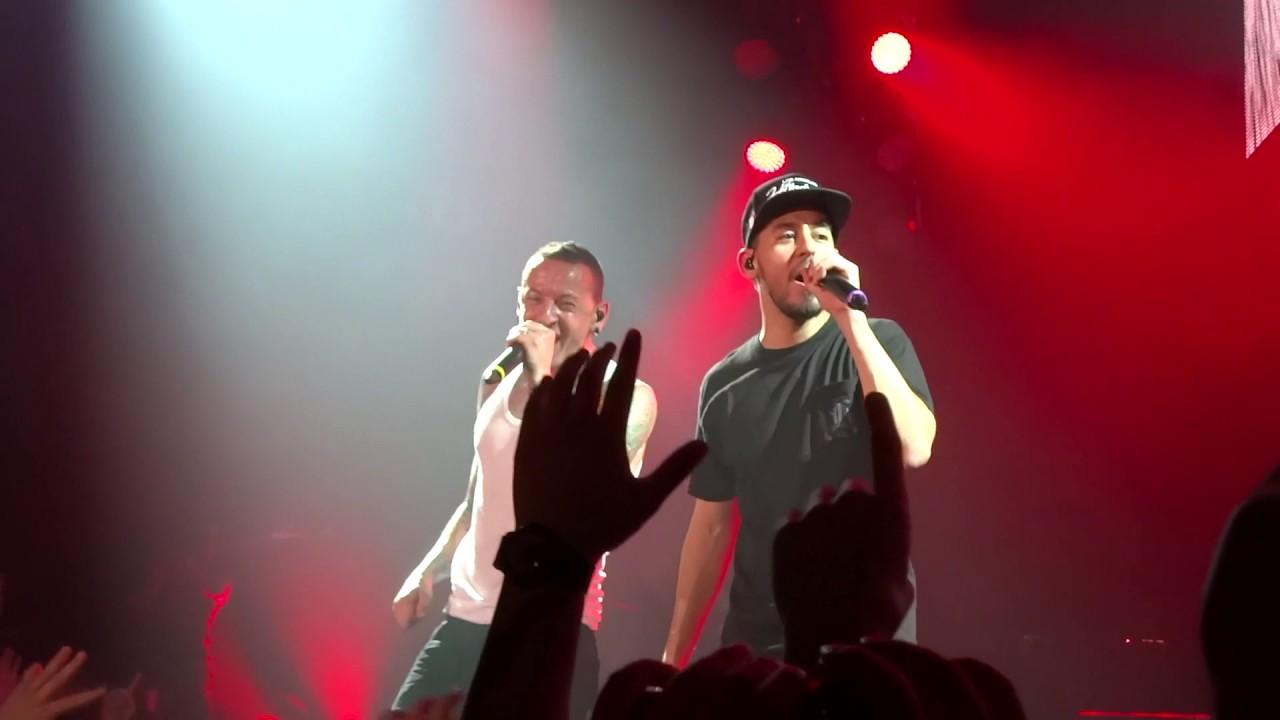 Linkin Park -Papercut (Live Dallas, TX at Gexa Energy Pavilion September 6,  2014)