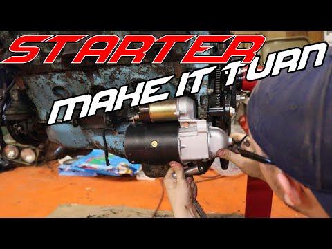How to Install a Car Starter on a Pontiac V8