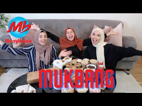 HETSIG MUKBANG + WOULD YOU RATHER MED CAMILLA HAMID & IMANE