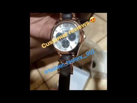 Fossil Ladies Watch Unboxing    Fashion_factory__007