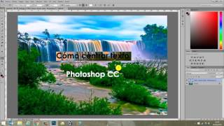 Cómo centrar texto en Photoshop CC