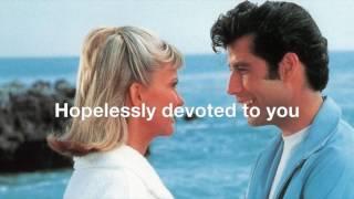 HOPELESSLY DEVOTED TO YOU    by Olivia Newton-John (with Lyrics)