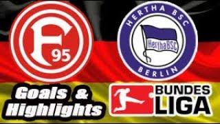 Dusseldorf vs Hertha Berlin - 2018-19 Bundesliga Highlights #11