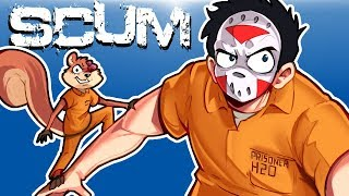 SCUM - SURVIVING IN A SCUMMY WORLD! (Funny Moments) Ep. 1