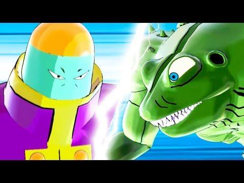 ZEN-OH'S ATTENDANT vs YAKON - Dragon Ball Xenoverse 2 Mods | Pungence