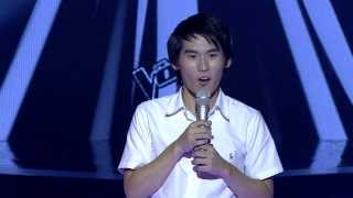 The Voice Thailand - พีท ปิติพงษ์ - Play That Funky Music - 13 Oct 2013