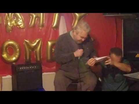 Daniel Johnston - 3/3 - Houston @ House Party Comedy (6/18/2016)