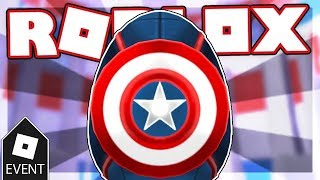 ROBLOX EGG HUNT 2019 TÜRKÇE / KAPTAN AMERika Egg / Captain America Egg