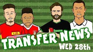 Transfer news #8! ronaldo angry? oxlade-chamberlain to lfc? aurier to juve?
