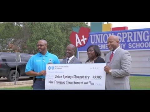 2017 Be Healthy School Grant Recipient: #Union Springs Elementary School#