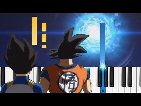 Dragon Ball Super OP1 - Chozetsu☆Dynamic! - Piano Tutorial