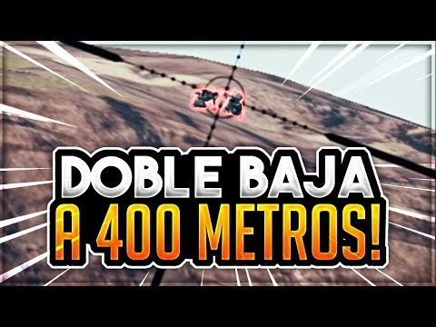 ¡DOBLE BAJA A 400 METROS! - PLAYERUNKNOWN'S BATTLEGROUNDS ESPAÑOL | Winghaven