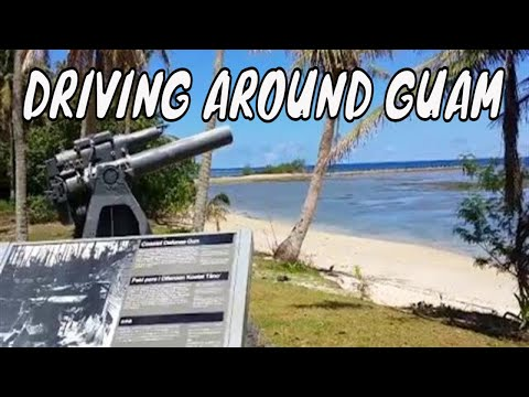Driving around Guam